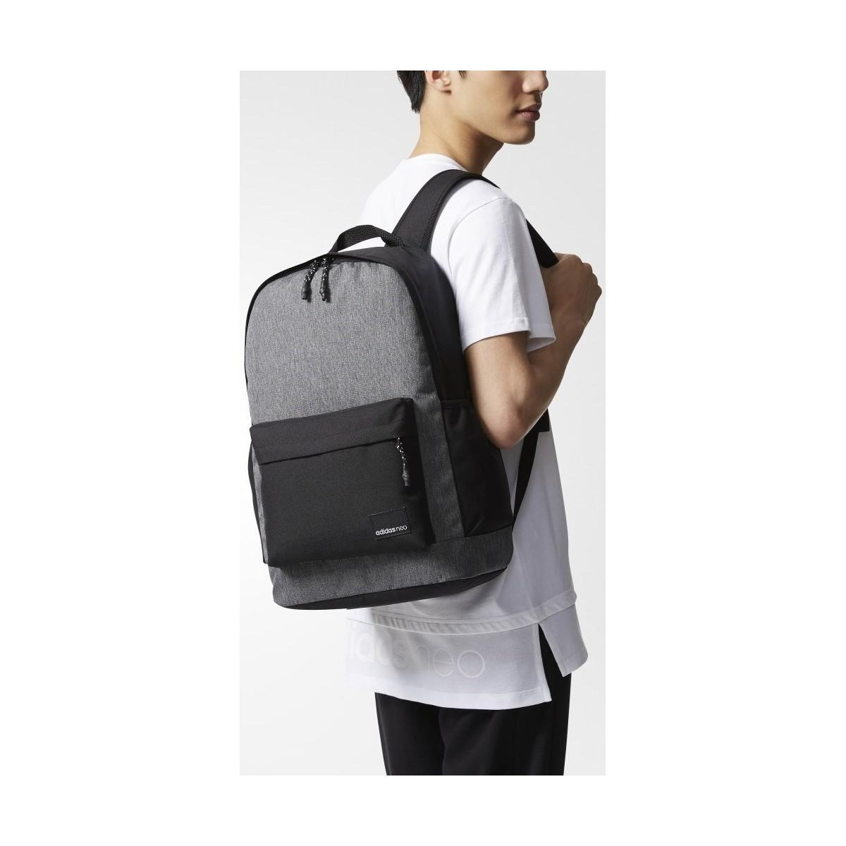f9255180154b adidas Bp Daily Xl Men s Backpack In Grey in Gray for Men - Lyst