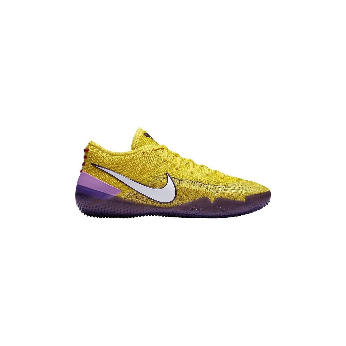 cheap for discount 48d33 1db4e Nike - Kobe Ad Nxt 360 Men s Shoes (trainers) In Yellow for Men -. View  fullscreen
