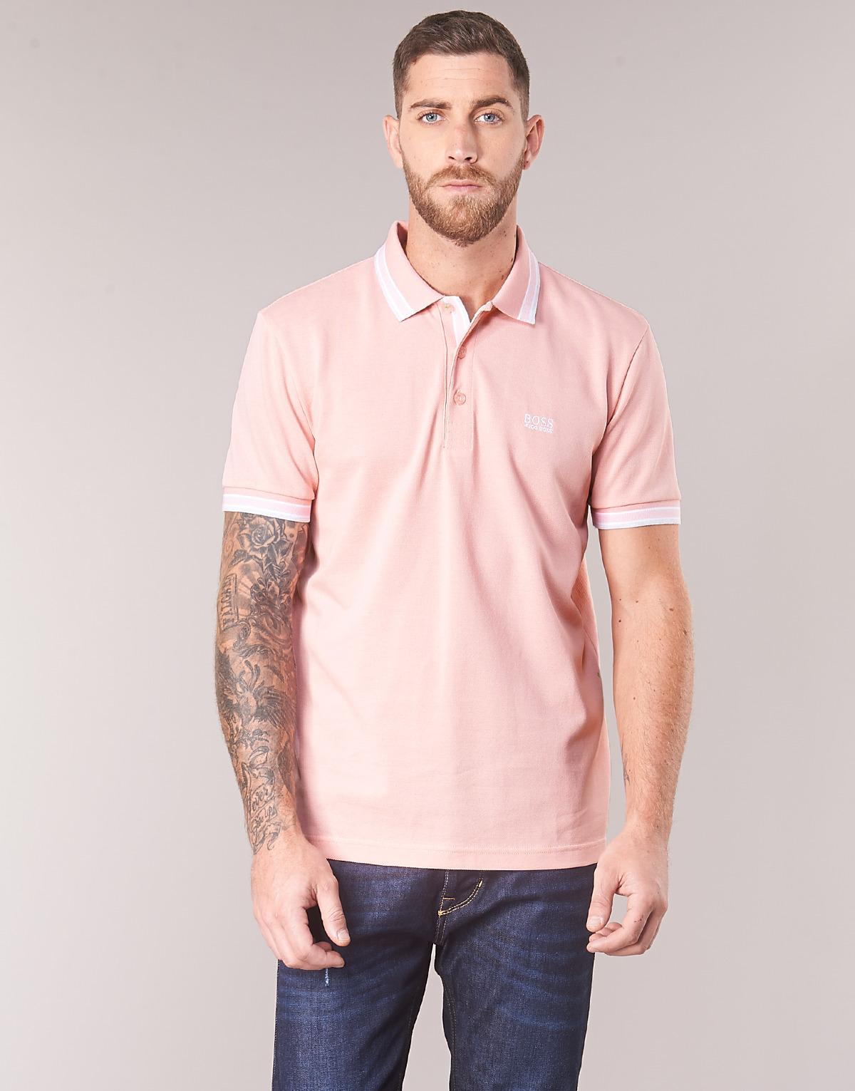 f7eda41c5 Boss Athleisure Paddy Men's Polo Shirt In Pink in Pink for Men - Lyst