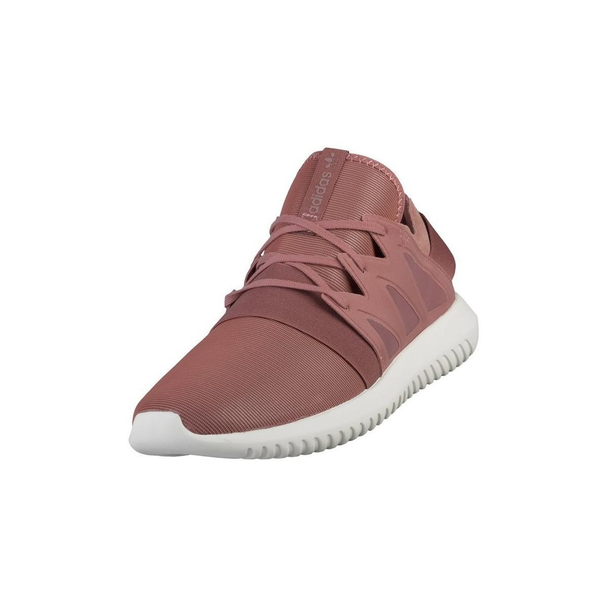 hot sale online 08068 58a71 adidas Tubular Viral W Women s Shoes (trainers) In Pink in Pink - Lyst