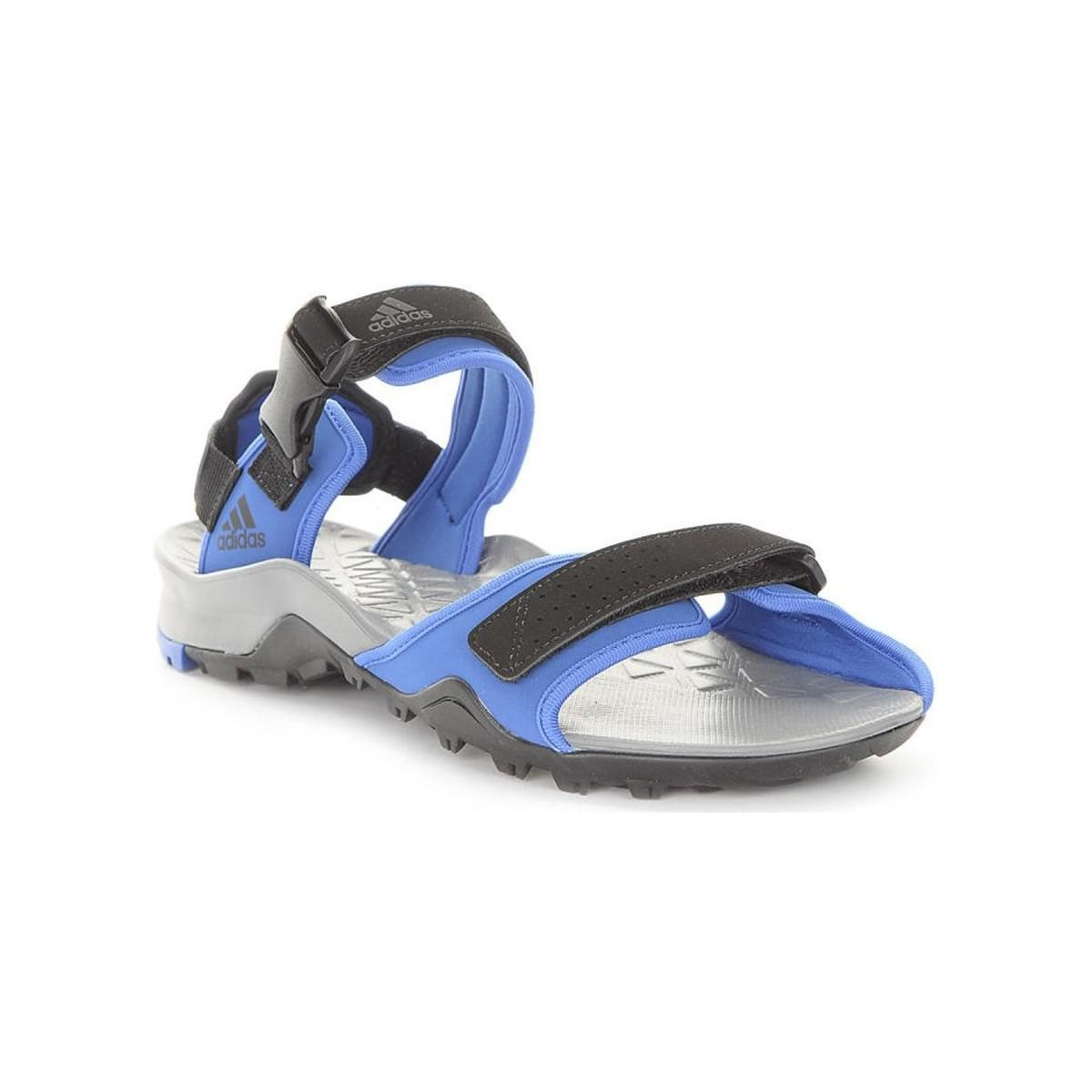 60c1816bde3f adidas Cyprex Ultra Sandal Ii Men s Outdoor Shoes In Blue in Blue ...