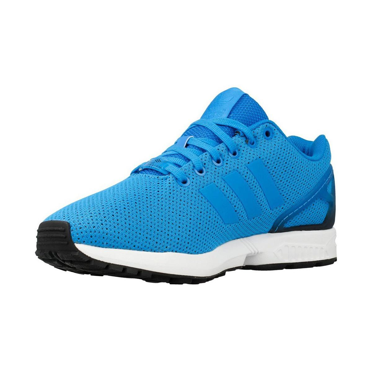 de782692d51 ... france adidas zx flux mens shoes trainers in blue in blue for men lyst  cdfca 286d0