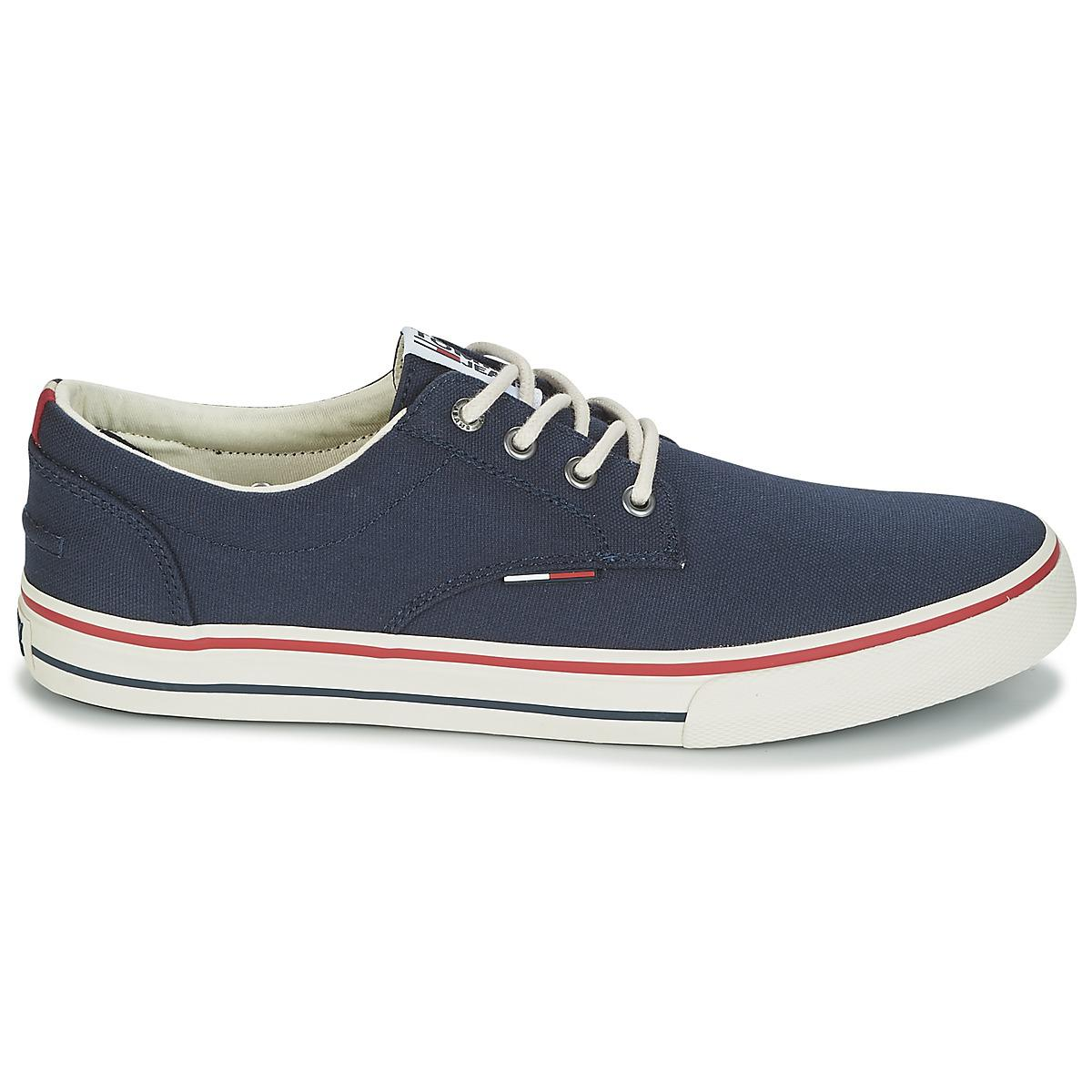 4b209cc7e1b5 Tommy Hilfiger Vic 1 Men s Shoes (trainers) In Blue in Blue for Men ...