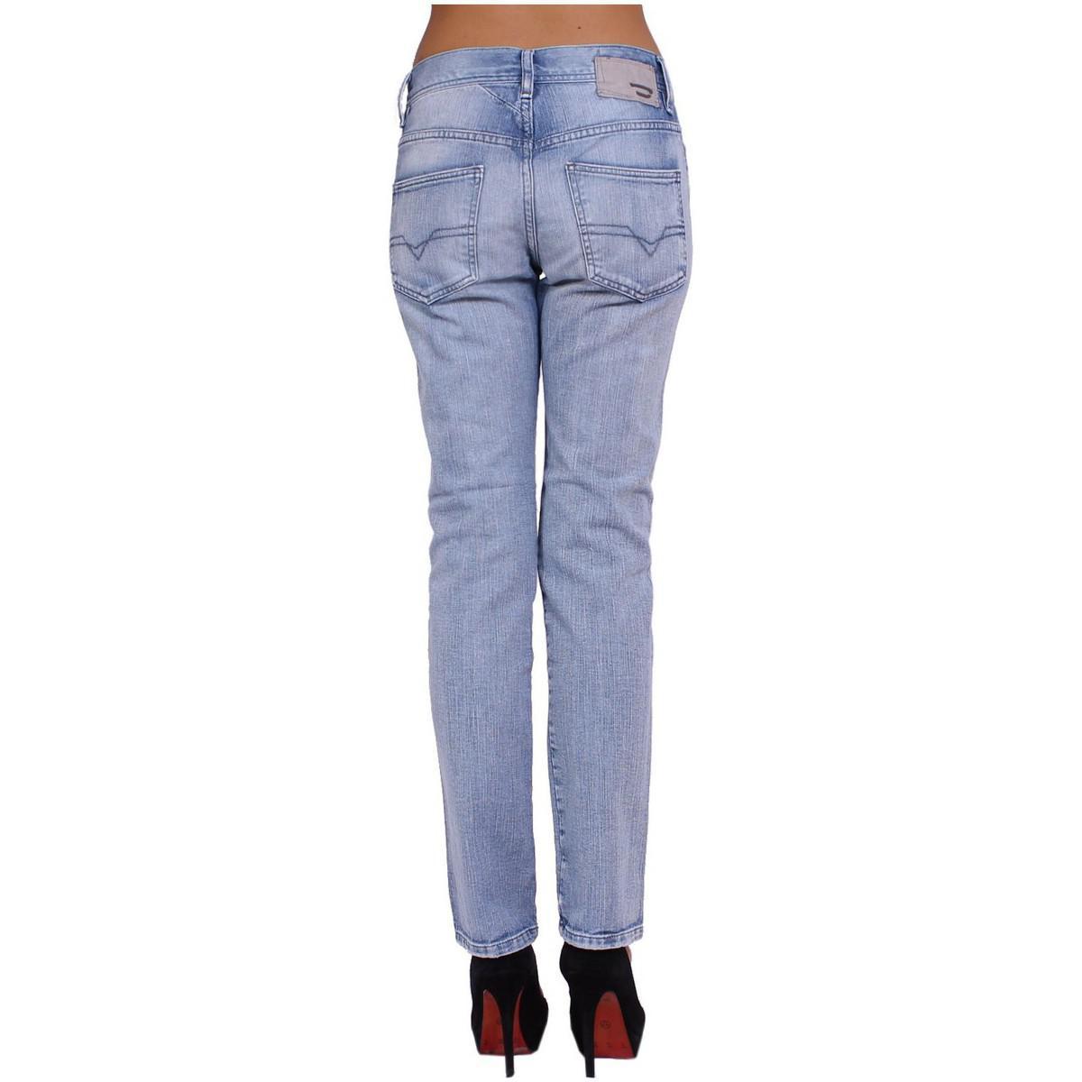 de4d49f1 DIESEL - - Women's Jeans Staffy - Wash 8sz - Stretch Women's Jeans In Blue  -. View fullscreen