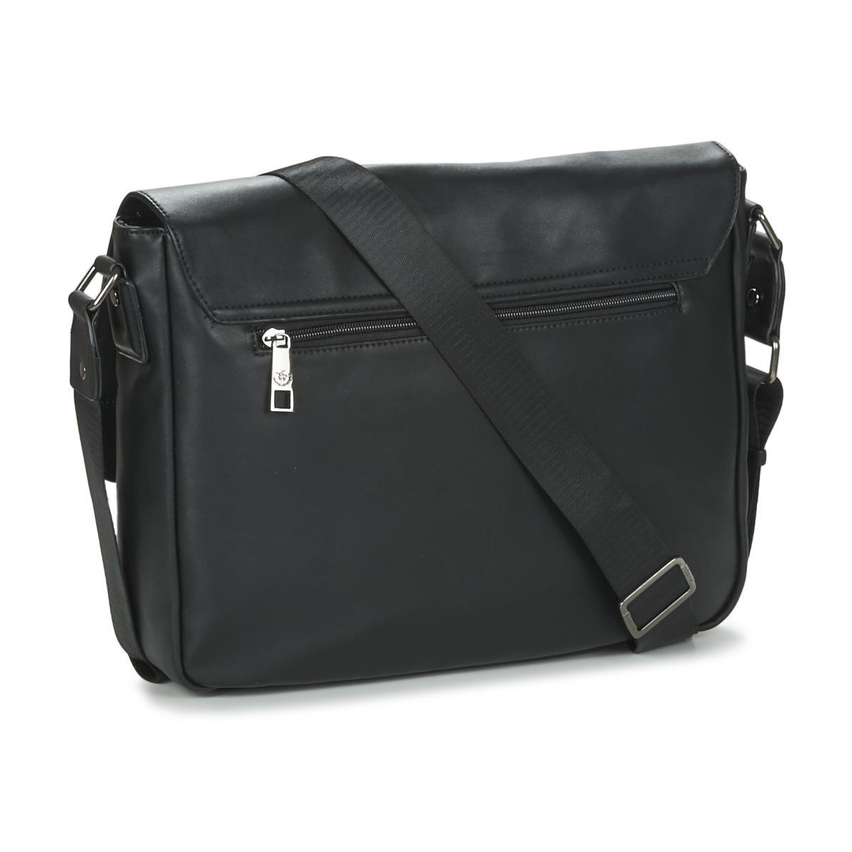 e9c54b3632 David Jones Jermon Men s Messenger Bag In Black in Black for Men - Lyst