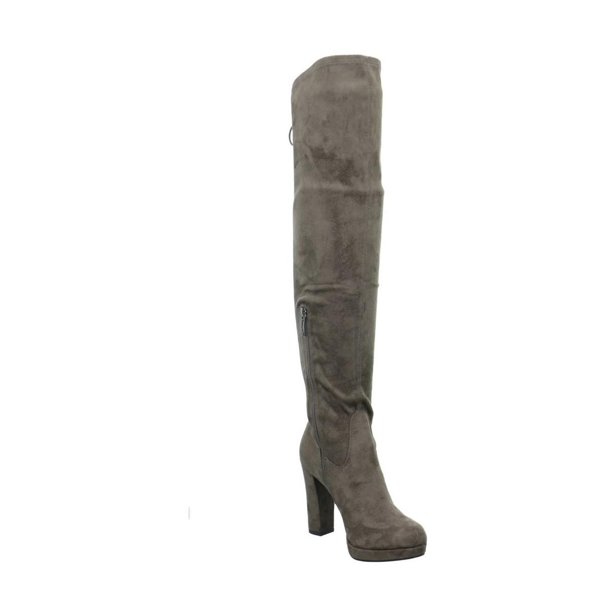In Lyst Tamaris Overknee Brown High Boots Lycoris Women's PggUWqB8w