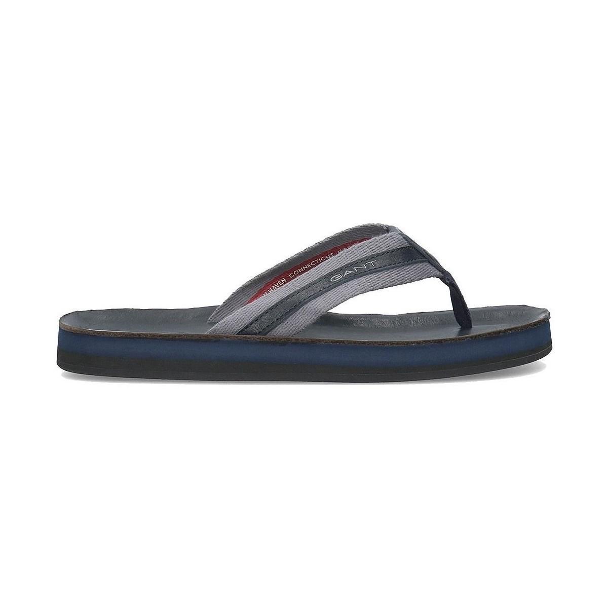 f51a72e18c3 GANT 18691414g69 Men's Flip Flops / Sandals (shoes) In Multicolour ...