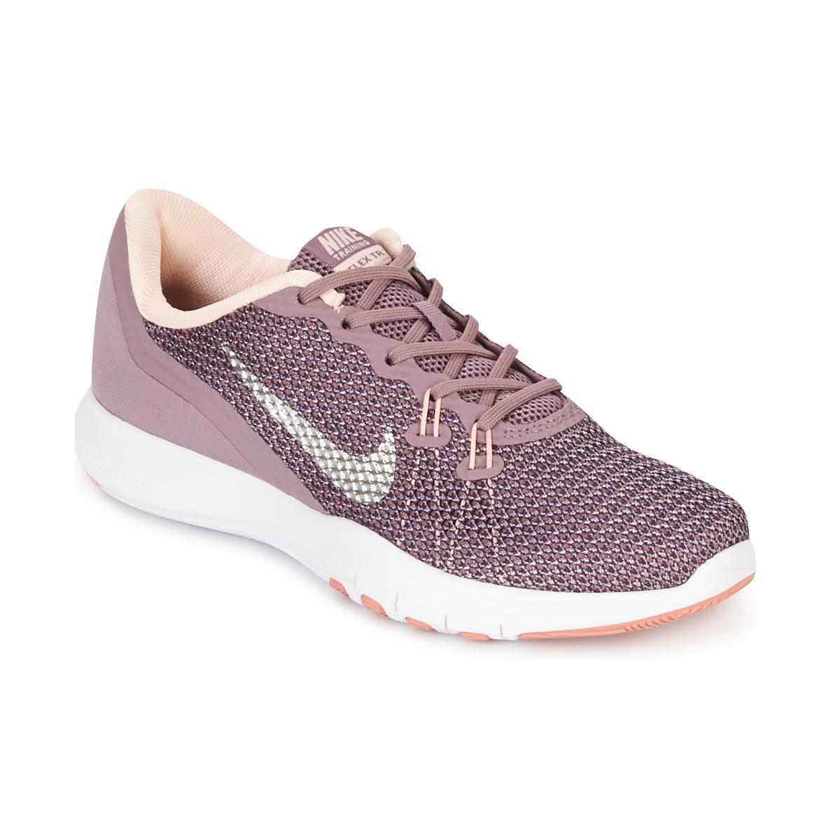 358ffec5268ac Nike Flex Trainer 7 Bionic W Women s Trainers In Purple in Purple - Lyst