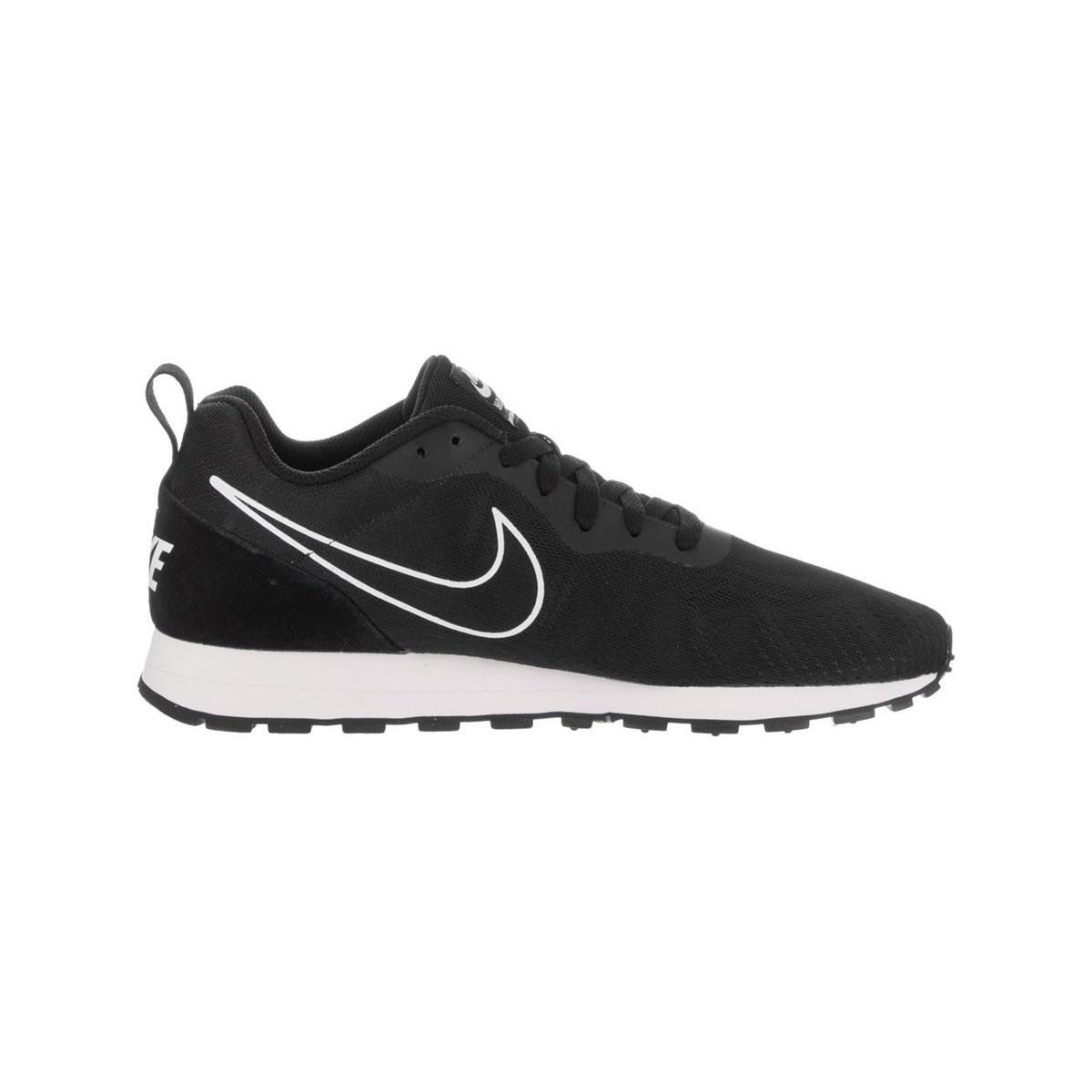 Nike Md Runner 2 Eng Mesh Men s Shoes (trainers) In Black in Black ... 5032257c14c77