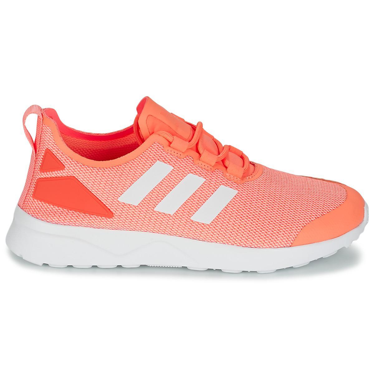 pretty nice 341c4 43d30 Adidas - ZX FLUX ADV VERVE W femmes Chaussures en orange - Lyst. Afficher  en plein écran