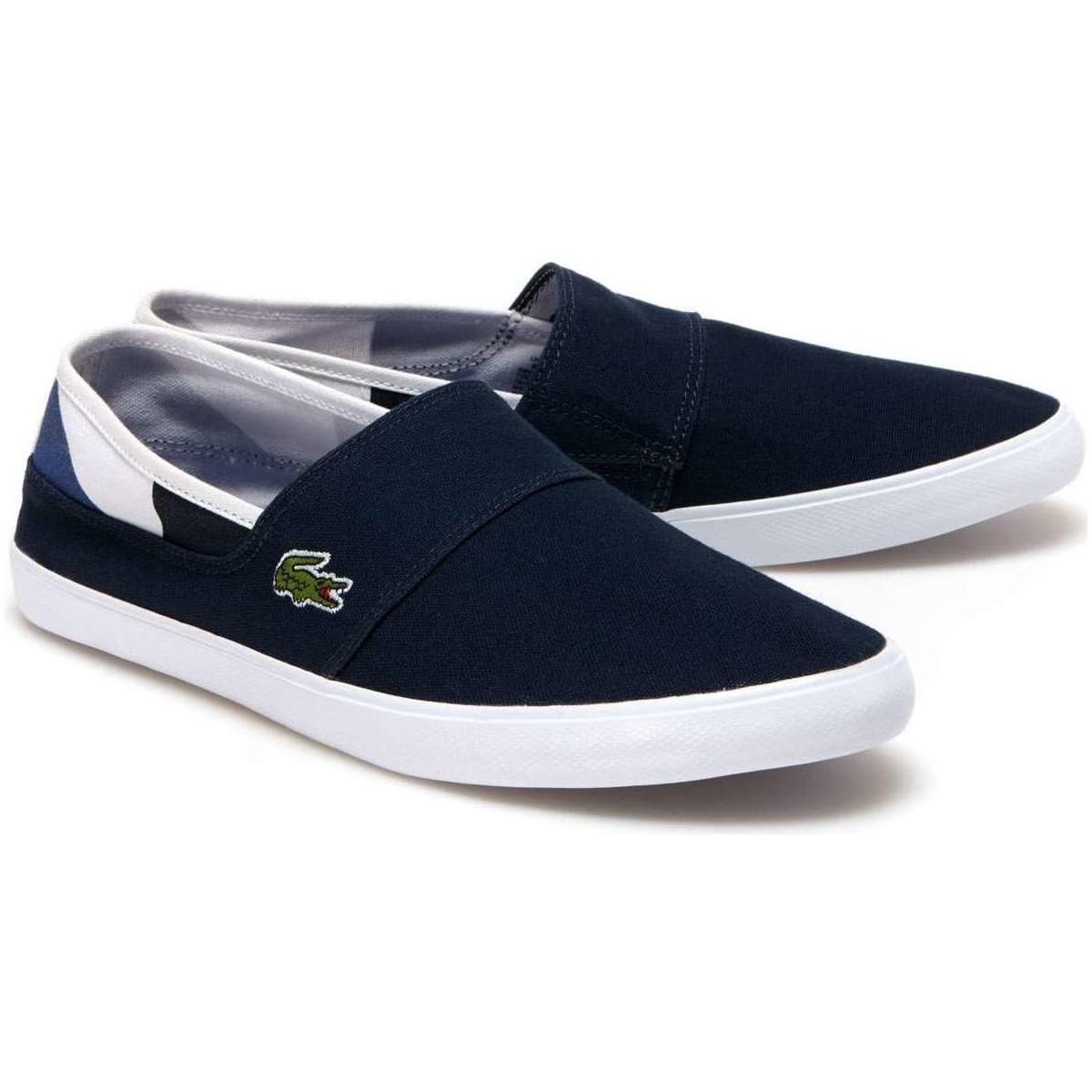 be4c9f216 Lacoste 733cam1068 Slip-on Man Blue Men s Slip-ons (shoes) In Blue ...