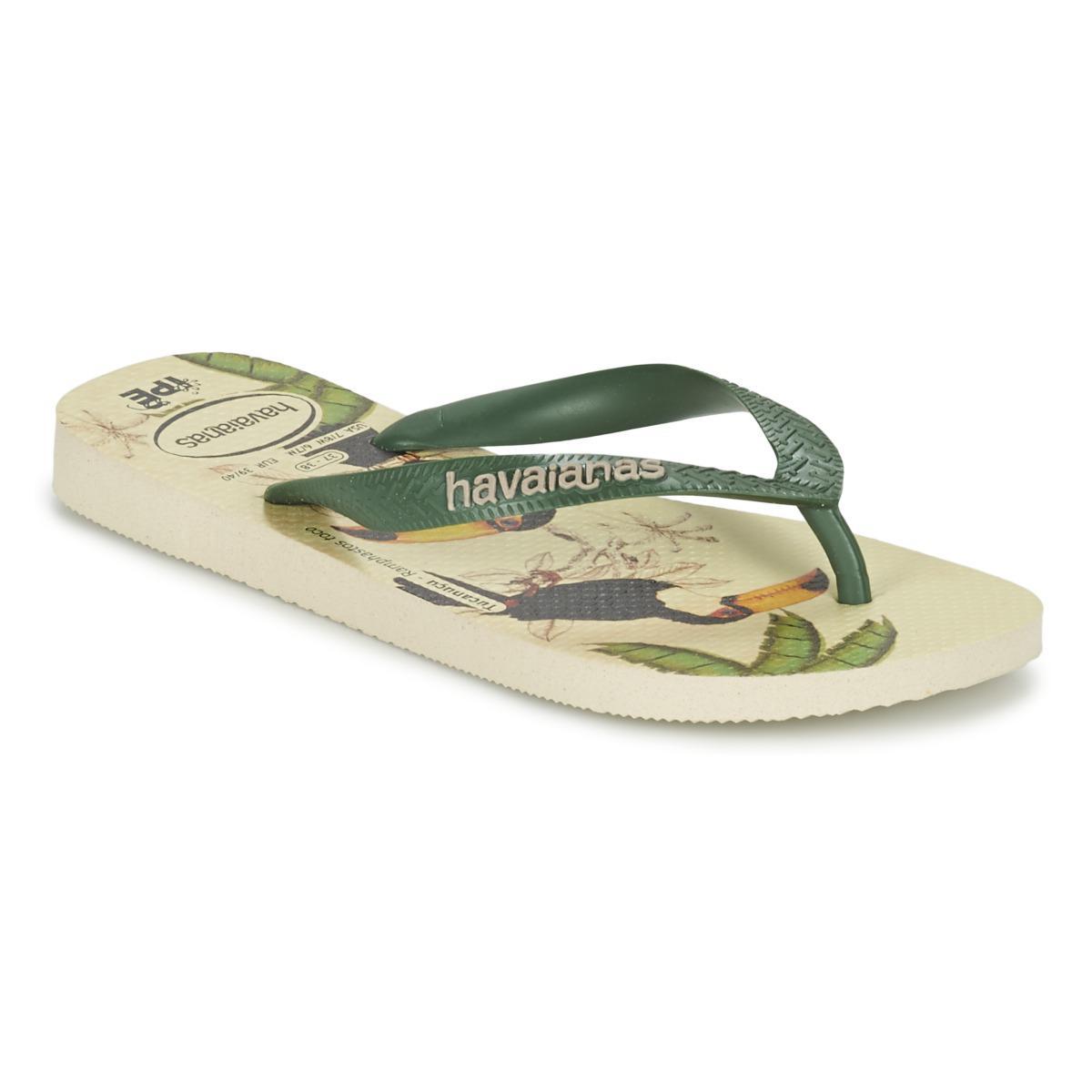3b3e9c6f3 Havaianas Ipe Women s Flip Flops   Sandals (shoes) In Beige in ...