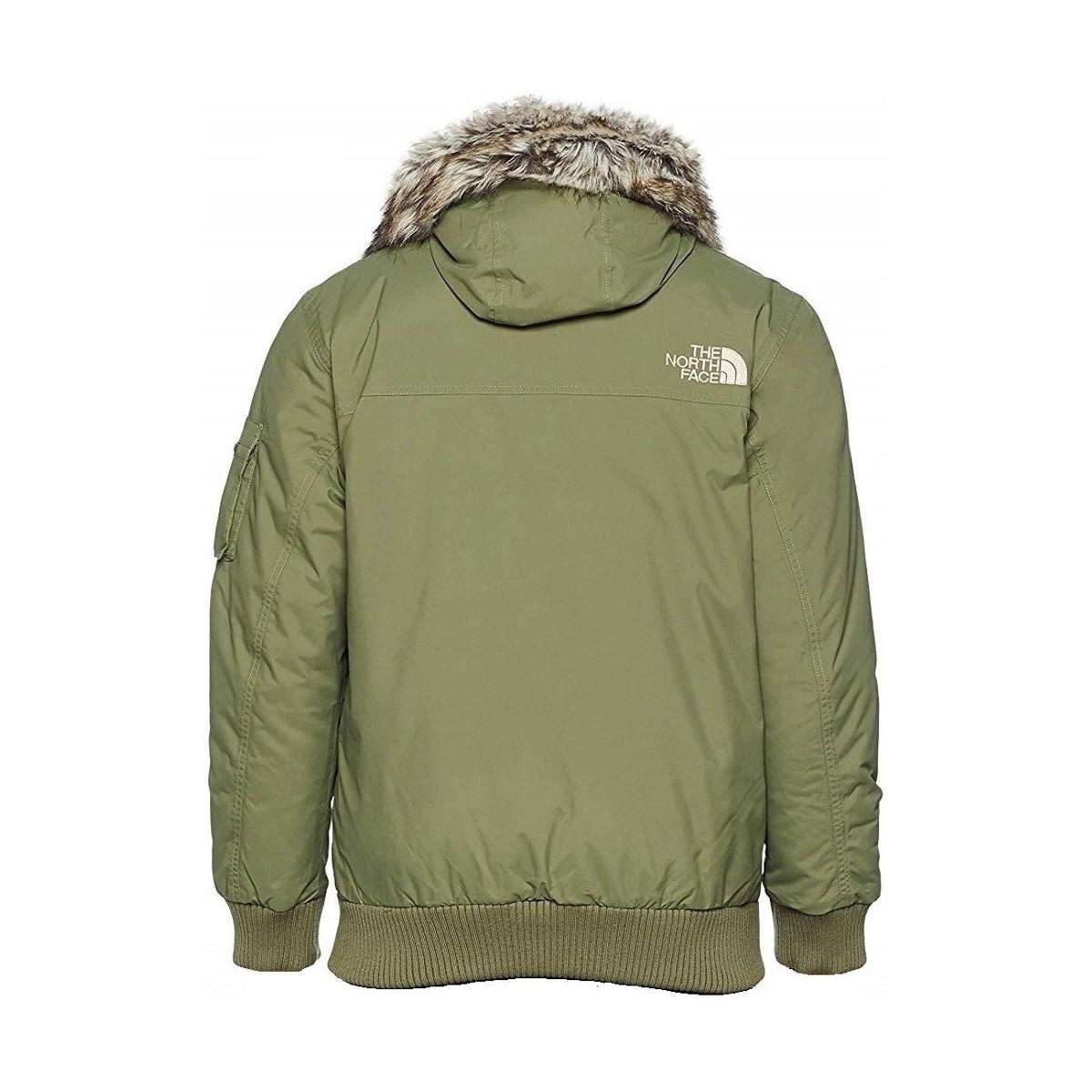 7d62f49302 The North Face Gotham Men's Parka In Multicolour in Green for Men - Lyst