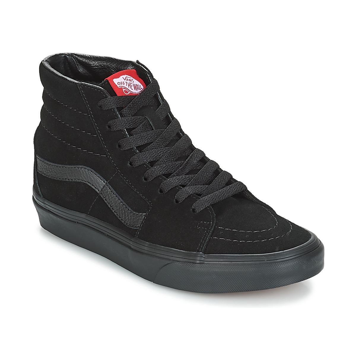 5c3aa6fdee Vans - Sk8-hi Women s Shoes (high-top Trainers) In Black -. View fullscreen