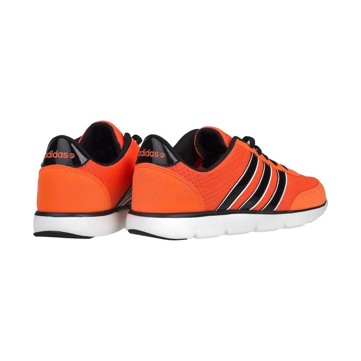 size 40 698e6 0a671 adidas Neo Ultra Racer Men s Shoes (trainers) In Orange in Orange ...