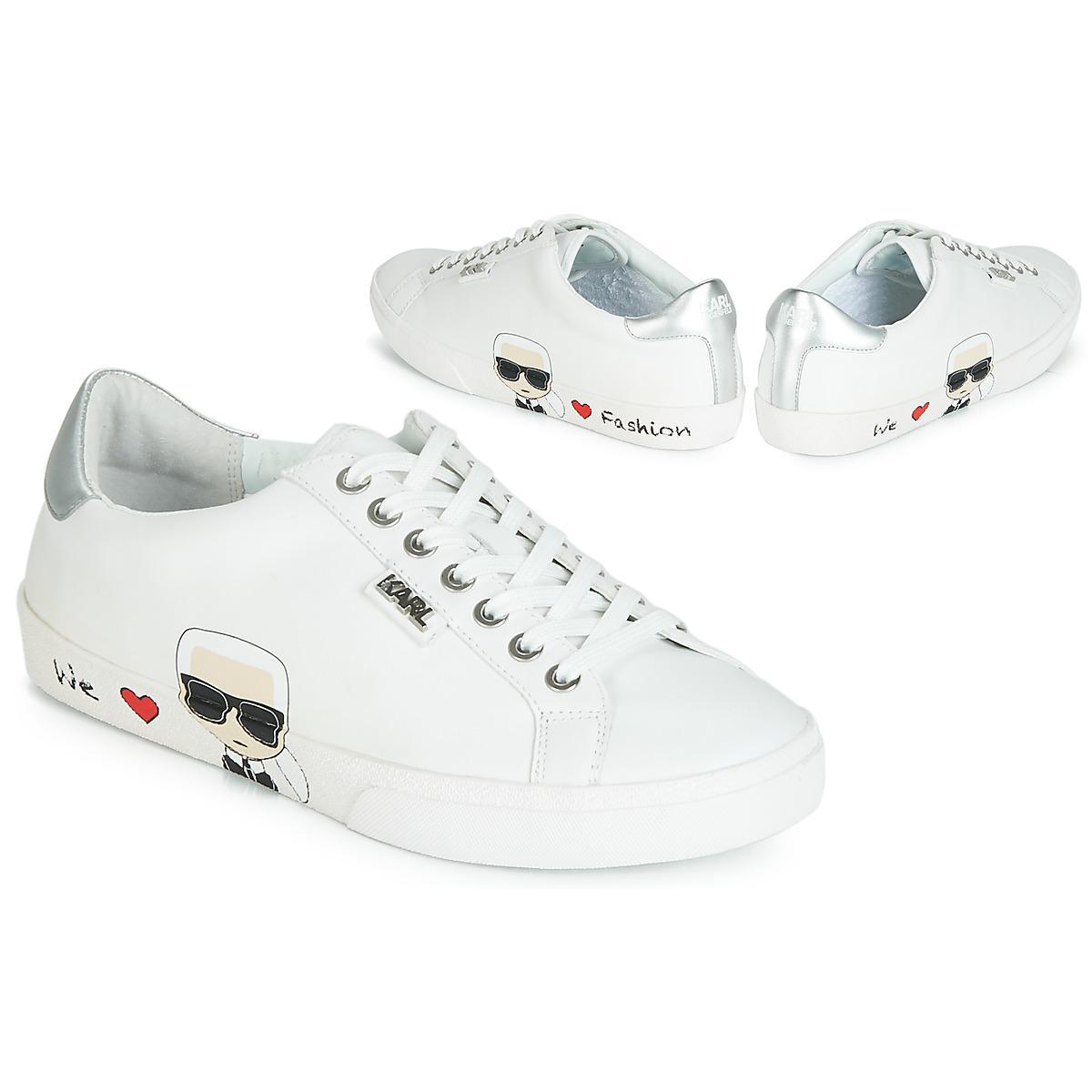 3fc43919737 Karl Lagerfeld Skool Karl Ikonic Lo Women s Shoes (trainers) In ...