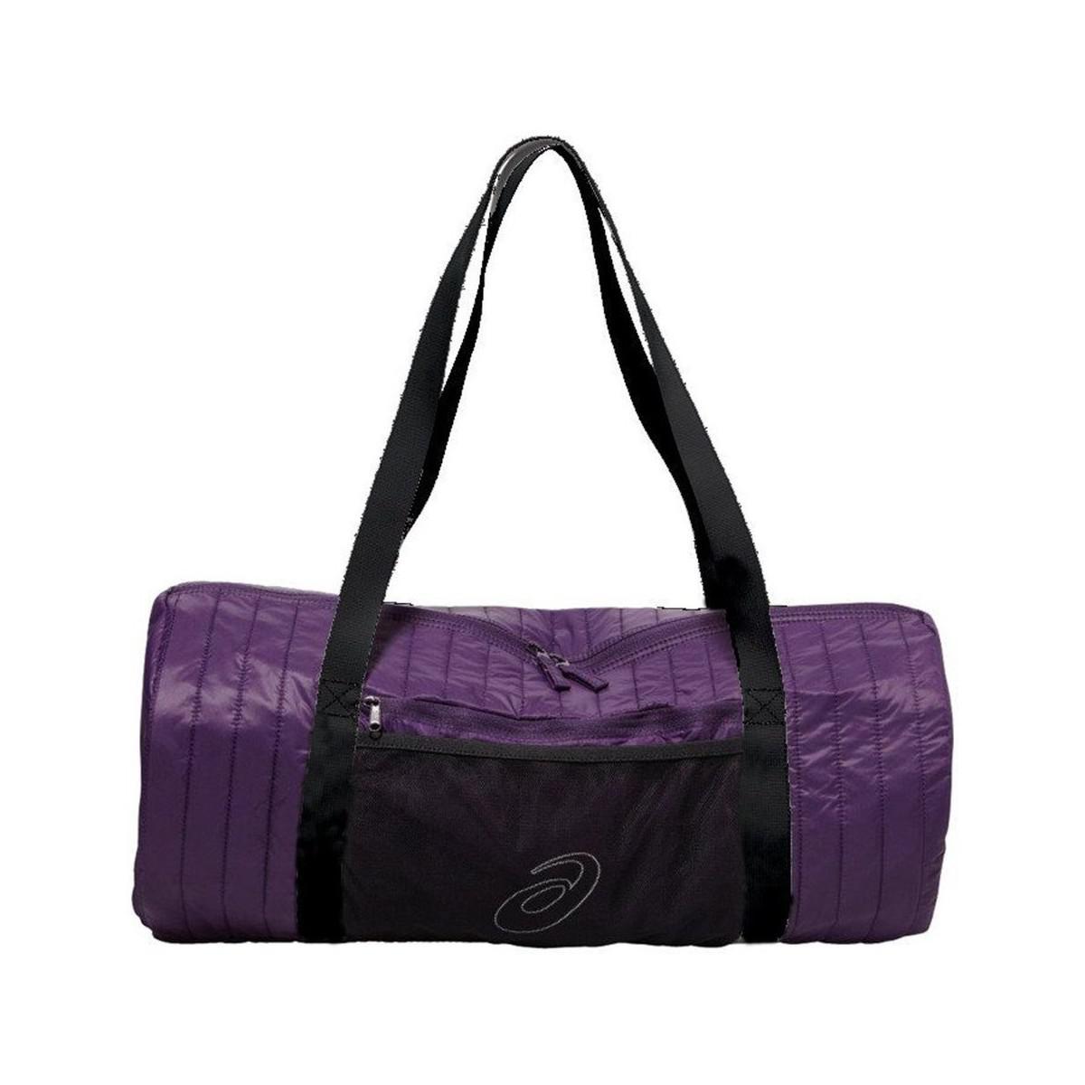 c8996c3a64 Asics Training Essentials Foldaway Bag Men s Sports Bag In Purple in ...