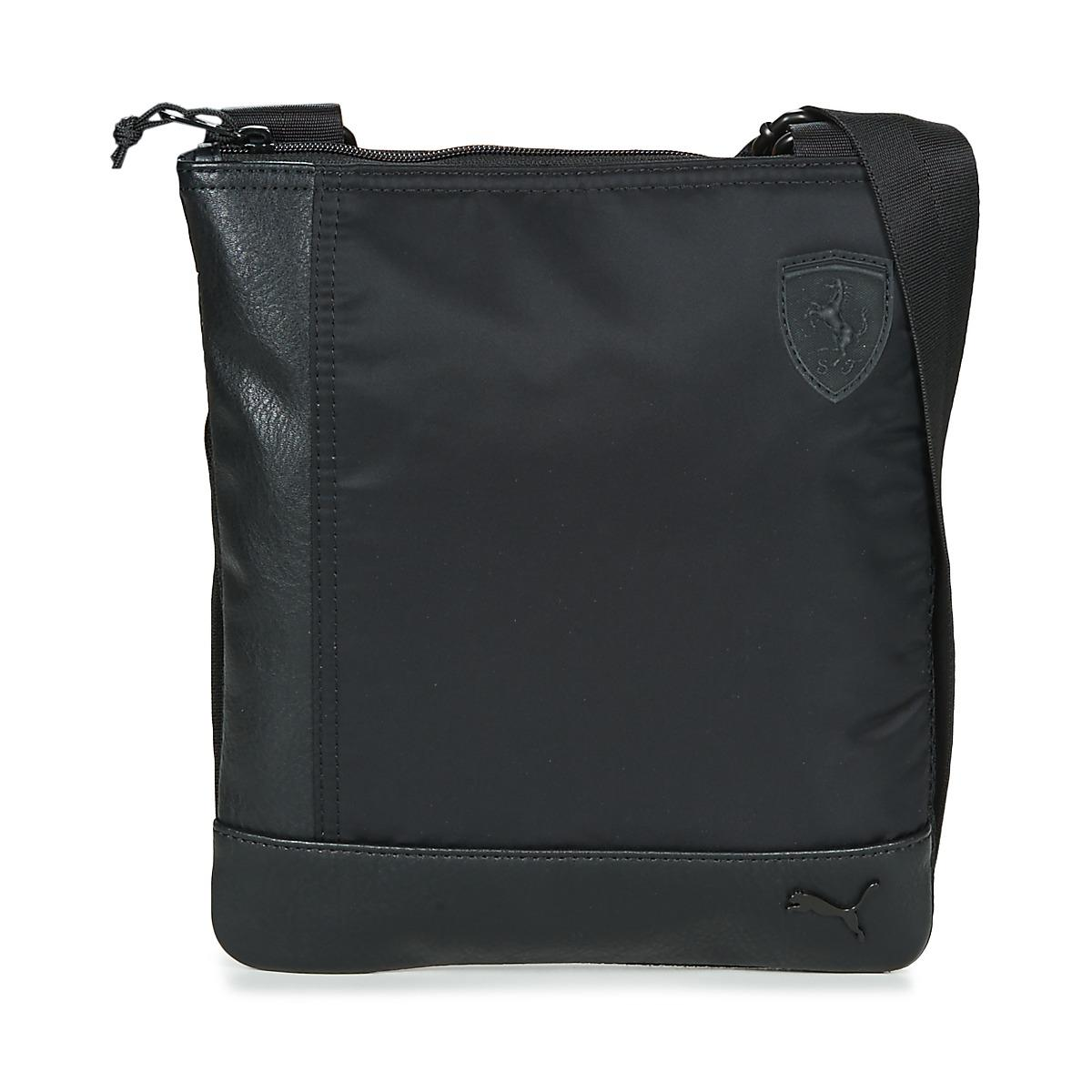 a857fdbb0a PUMA Ferrari Ls Flat Portable Men s Pouch In Black in Black for Men ...