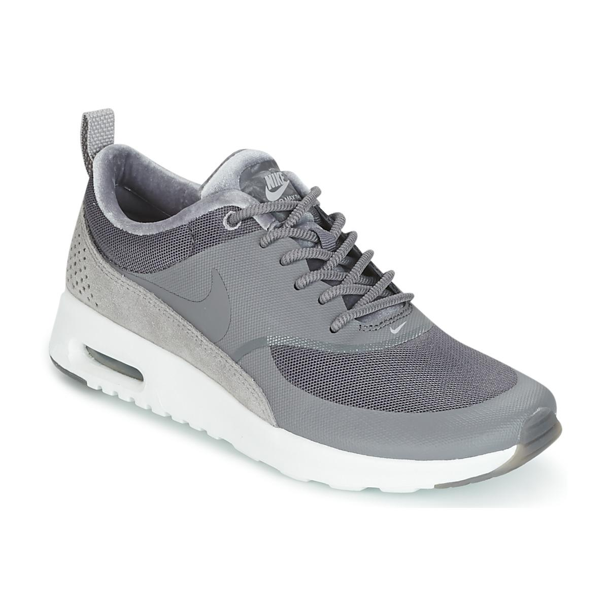 47386a893a878 Nike Air Max Thea Lx W Women s Shoes (trainers) In Grey in Gray - Lyst