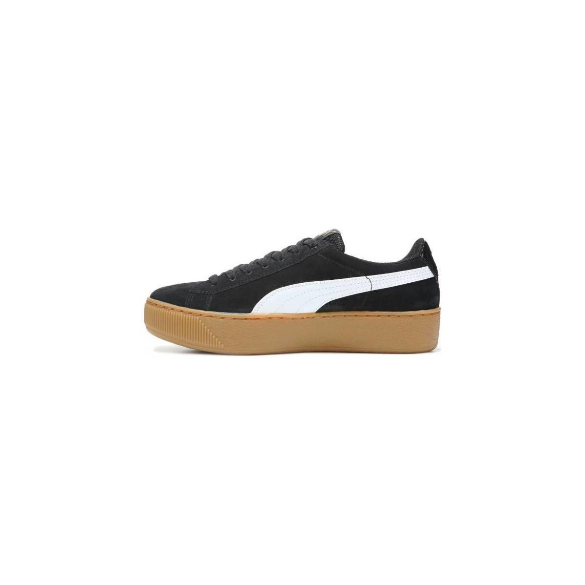 PUMA - Vikky Platform Women s Shoes (trainers) In Black - Lyst. View  fullscreen 9a27b0fde
