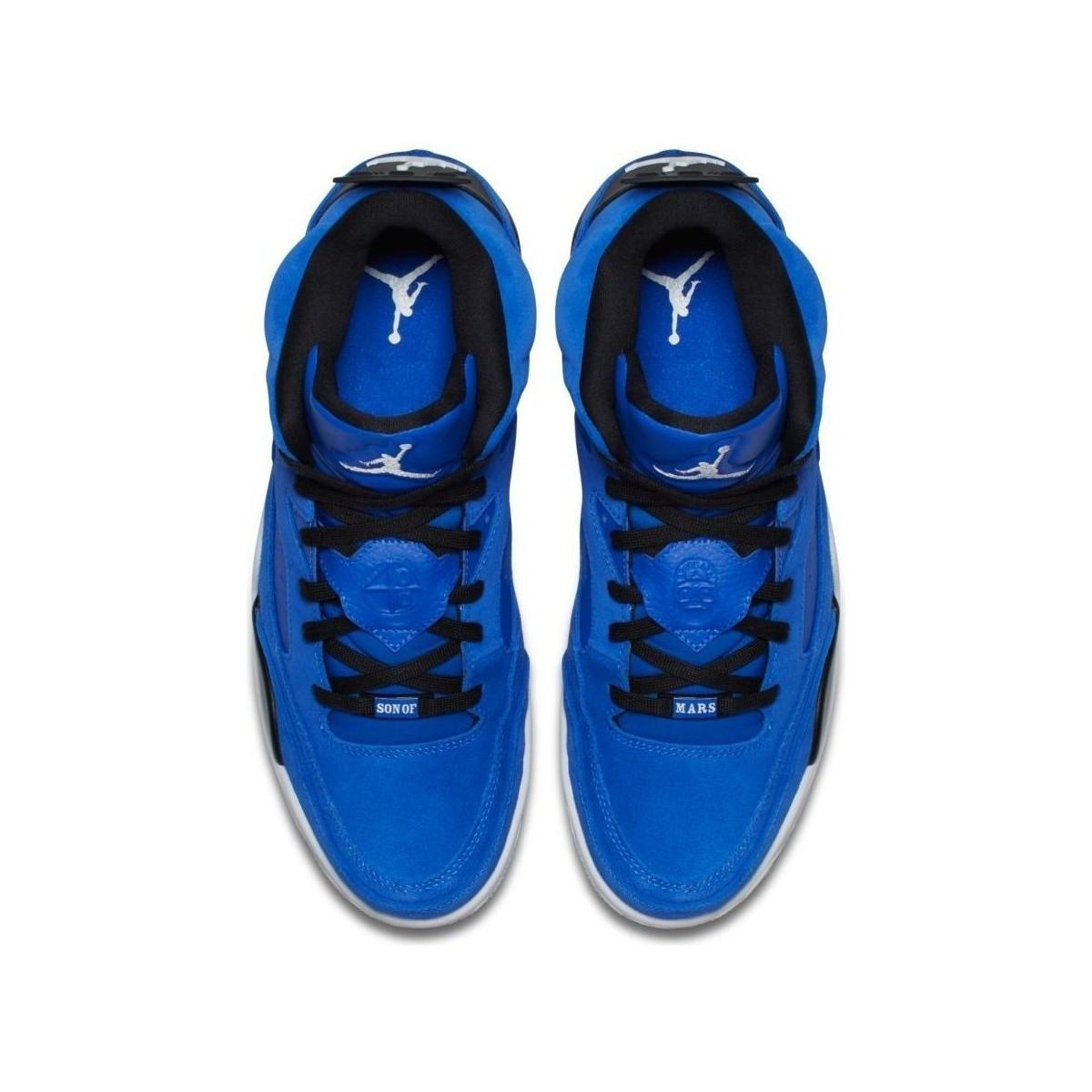 e3e4e2b96fe513 Nike Air Jordan Son Of Mars Men s Shoes (high-top Trainers) In Blue ...