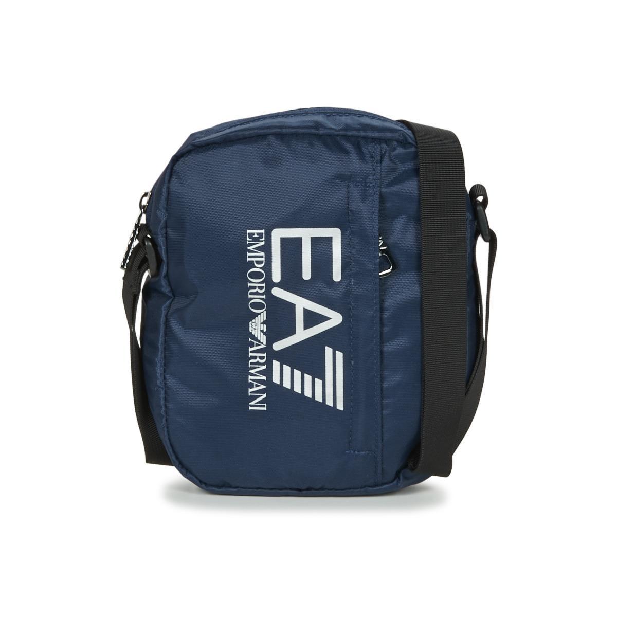 e3392ba249f Lyst - TRAIN PRIME U POUCH BAG SMALL C hommes Sacoche en bleu EA7 ...