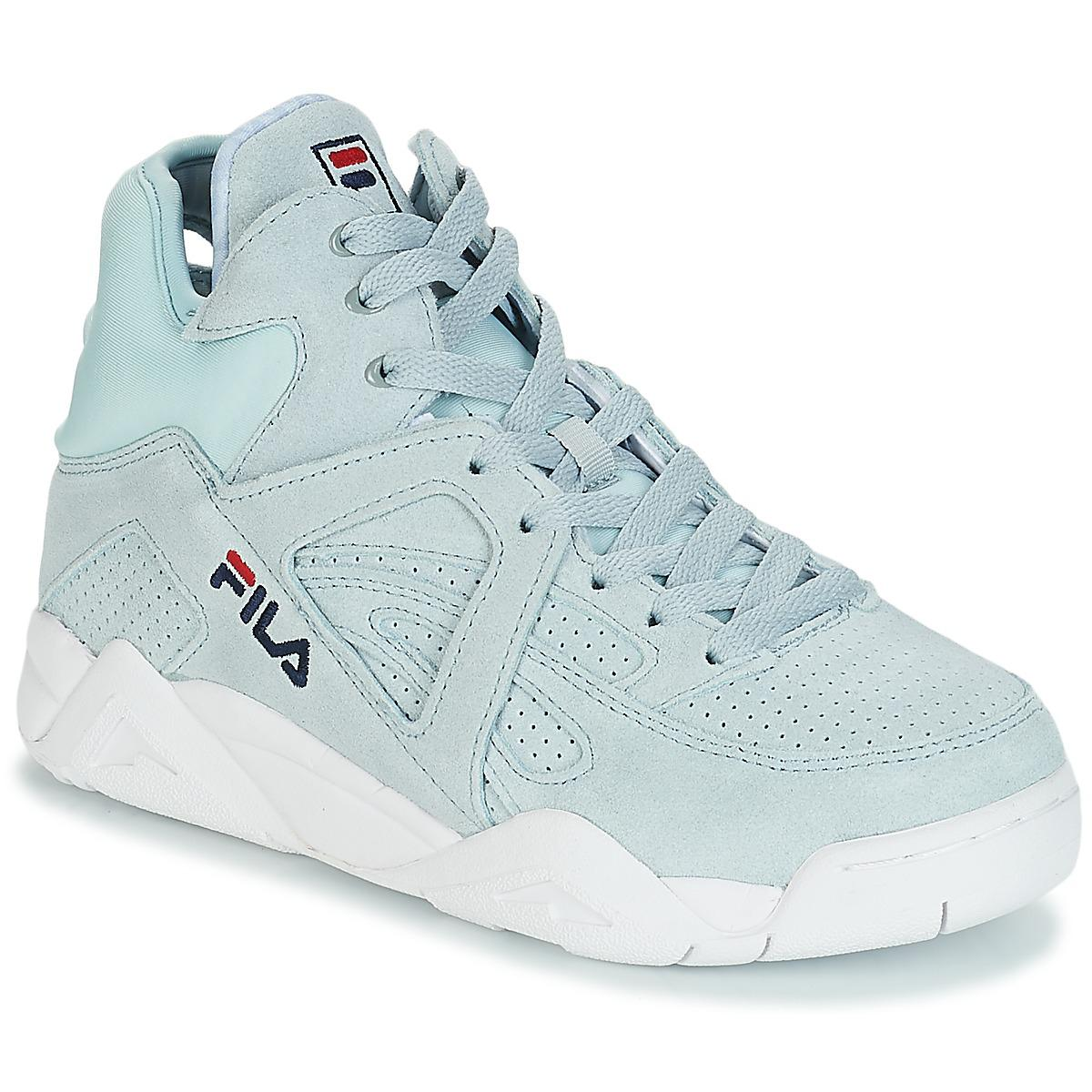 e7980937f99 Fila Cage S Mid Wmn Women's Shoes (trainers) In Blue in Blue - Lyst