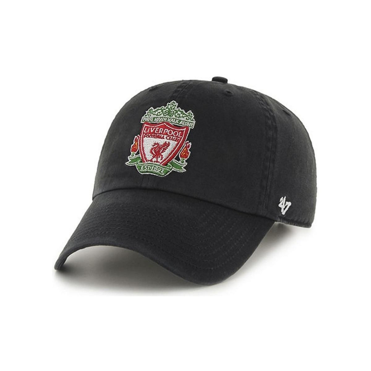 31faff856bf 47 Brand Epl Liverpool Fc Clean Up Cap - Black Men s Cap In Black in ...