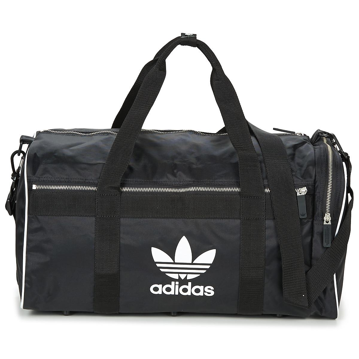 3db44325c6 Adidas - Duffle Large Women s Sports Bag In Black for Men - Lyst. View  fullscreen