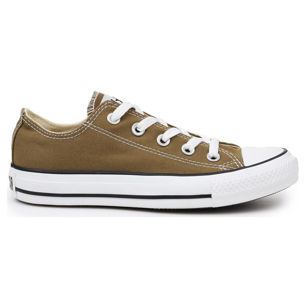 76787fafc96e Converse - Chuck Taylor All Star Ox Women s Shoes (trainers) In Brown - Lyst.  View fullscreen
