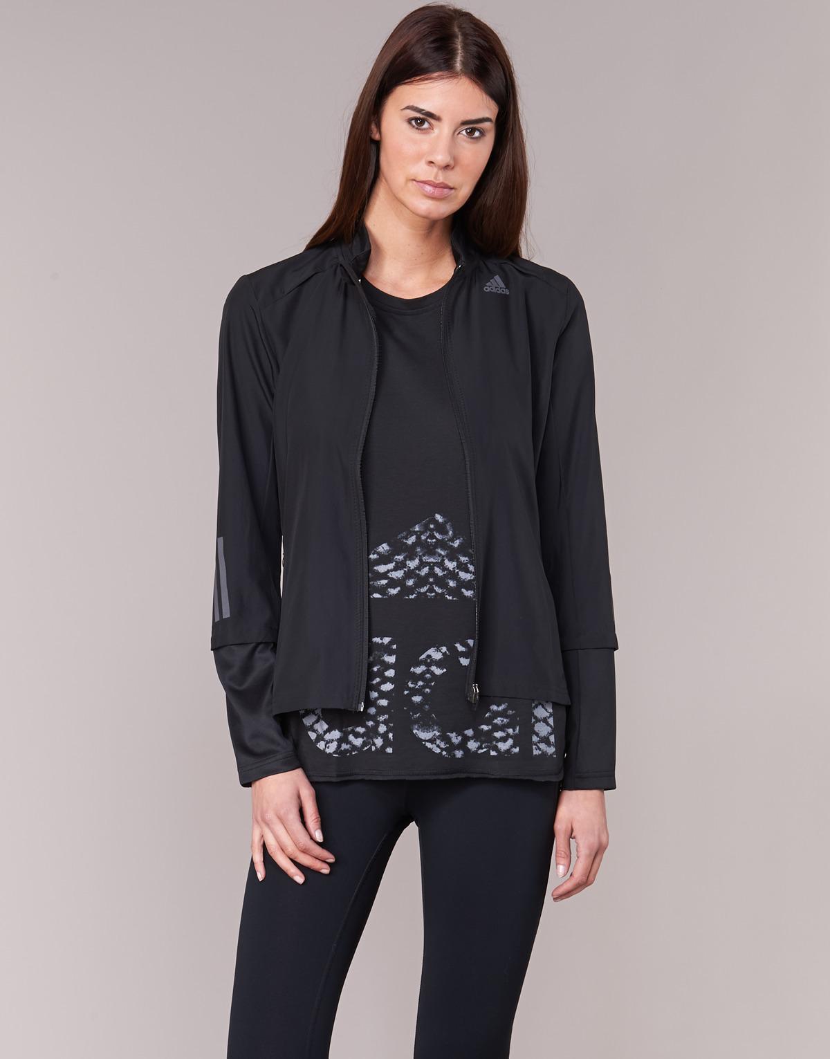 52160d4a5ead Adidas Rs Wind Jkt W Women s Tracksuit Jacket In Black in Black - Save  23.728813559322035% - Lyst