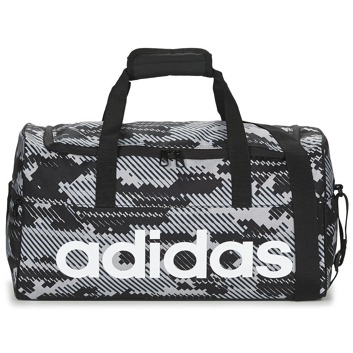 c28ddd62d8de Adidas Originals Linear Teambag Small Men s Sports Bag In Grey in ...