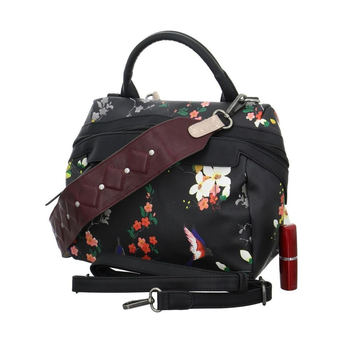 In Bag Lyst Black Ava Tamaris Bowling Handbags Women's wBXxvS6q8