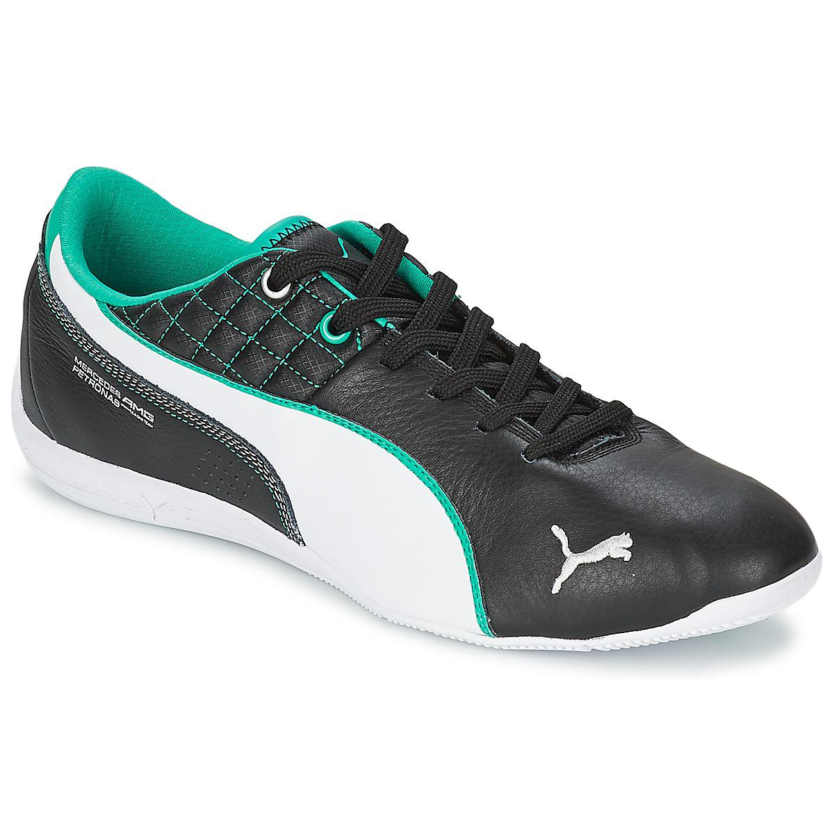 PUMA. Mamgp Drift Cat 6 Leather Men's Shoes (trainers) In Black