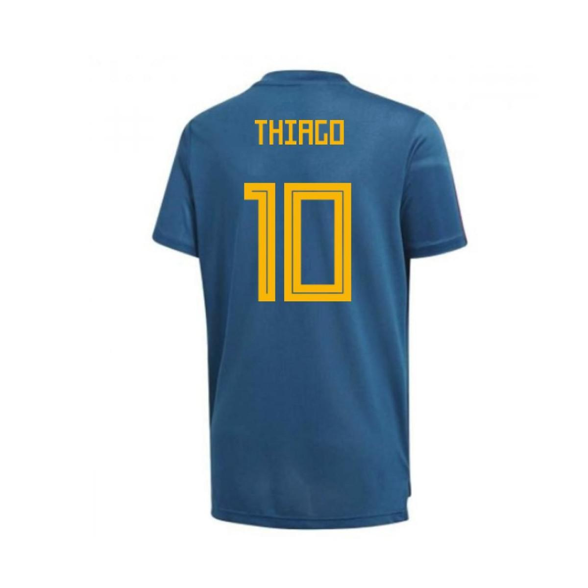 f988e3c6975 Adidas 2018-19 Spain Training Shirt (thiago 10) Men s T Shirt In ...