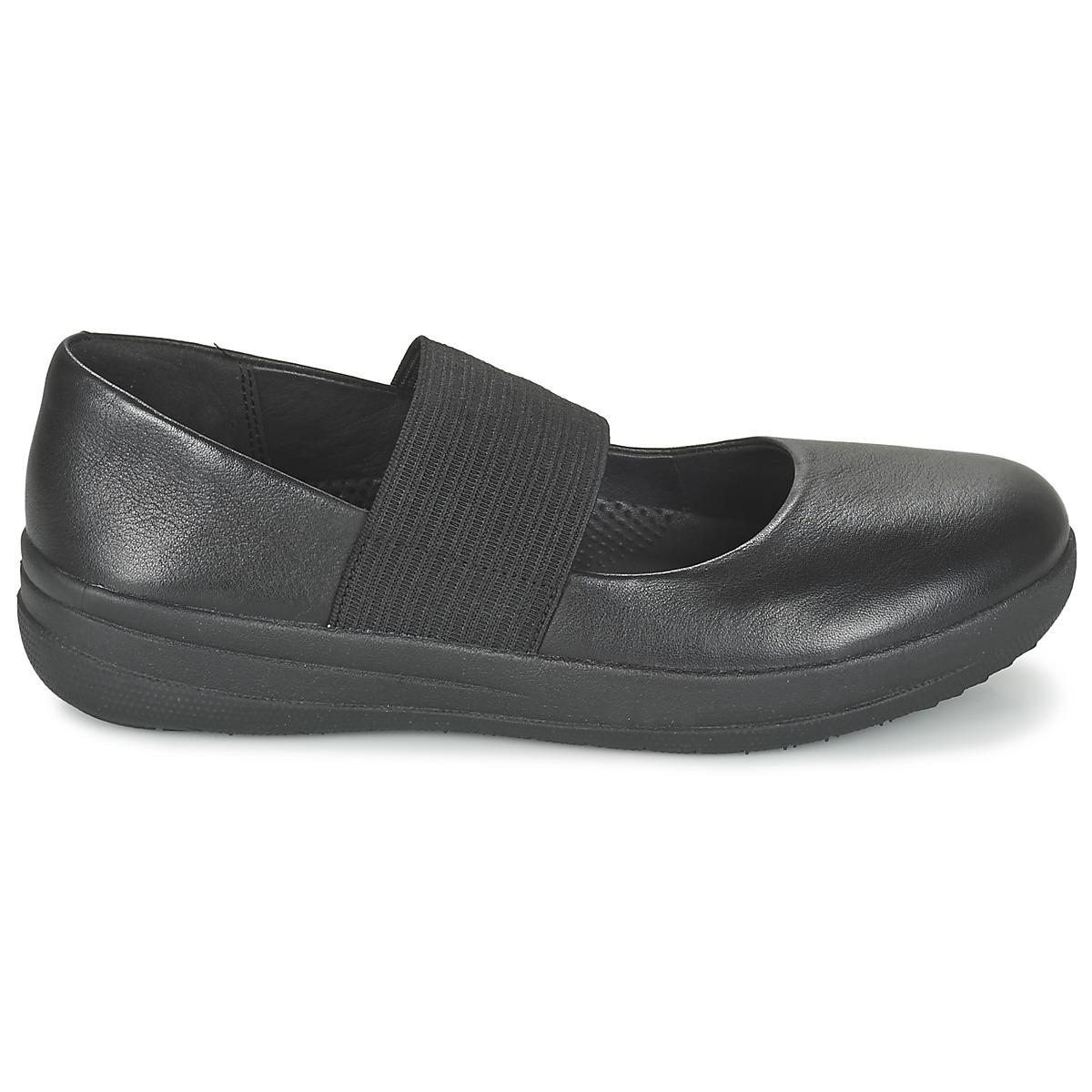 f4f8532fd9b Fitflop F-sporty Mary Jane Women s Slip-ons (shoes) In Black in ...