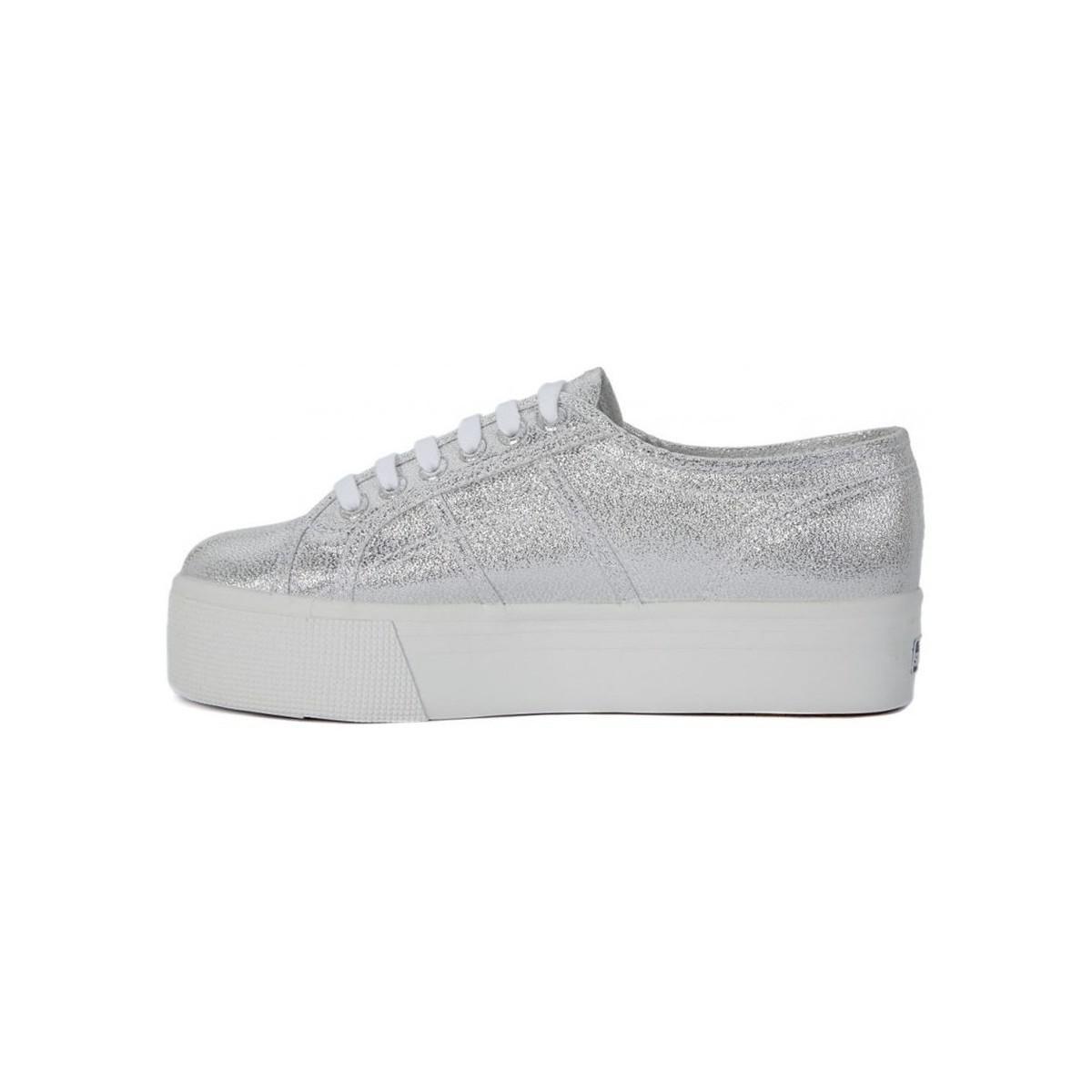 Buy Cheap Footlocker Sale Choice Superga Lame Wedge Grey women's in Websites For Sale RTMLhc