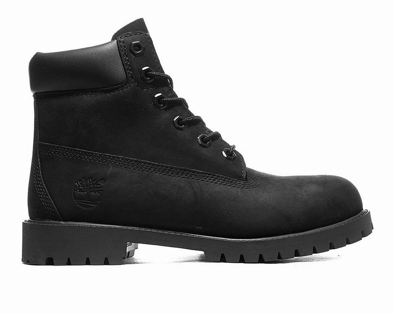 da86919444e Timberland 6 Inch Premium Waterproof Leather Boots Black in Black ...