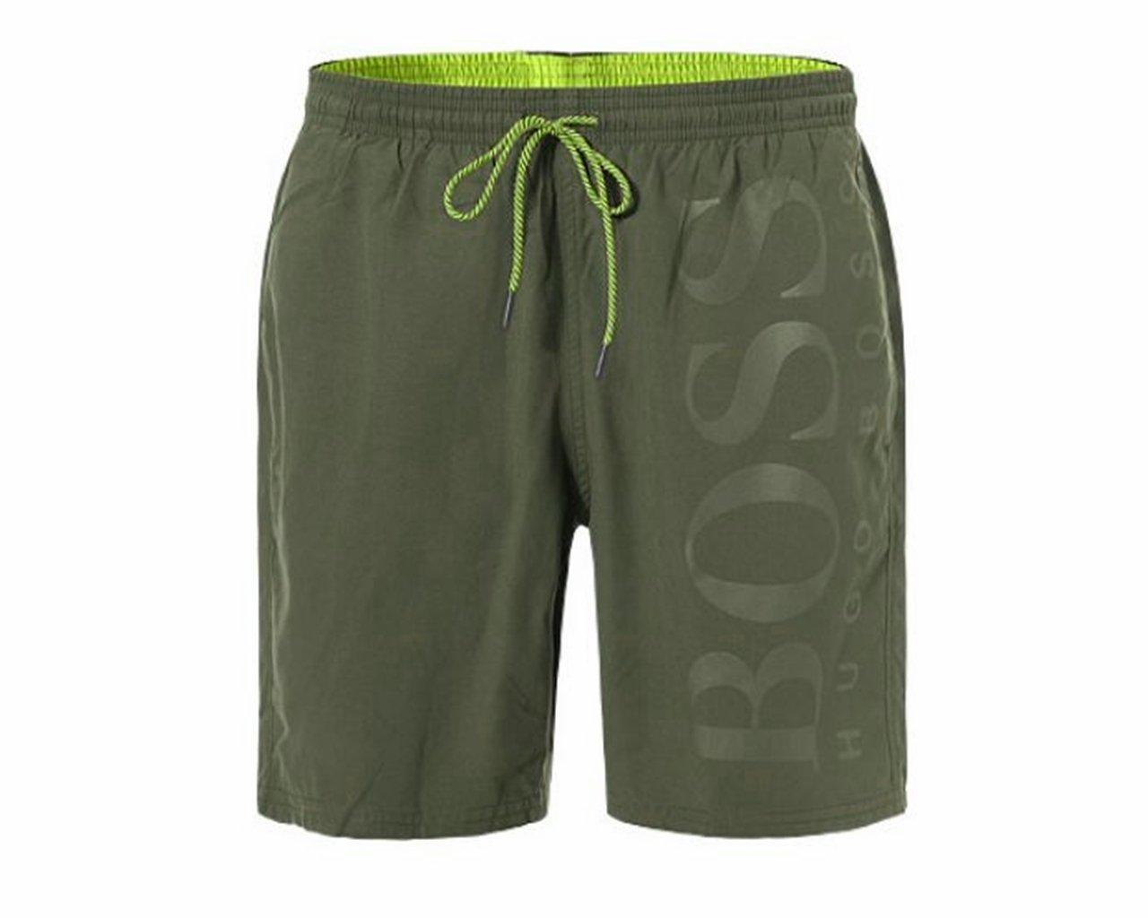 ba805fcf8a BOSS Orca Swim Shorts Green in Green for Men - Lyst