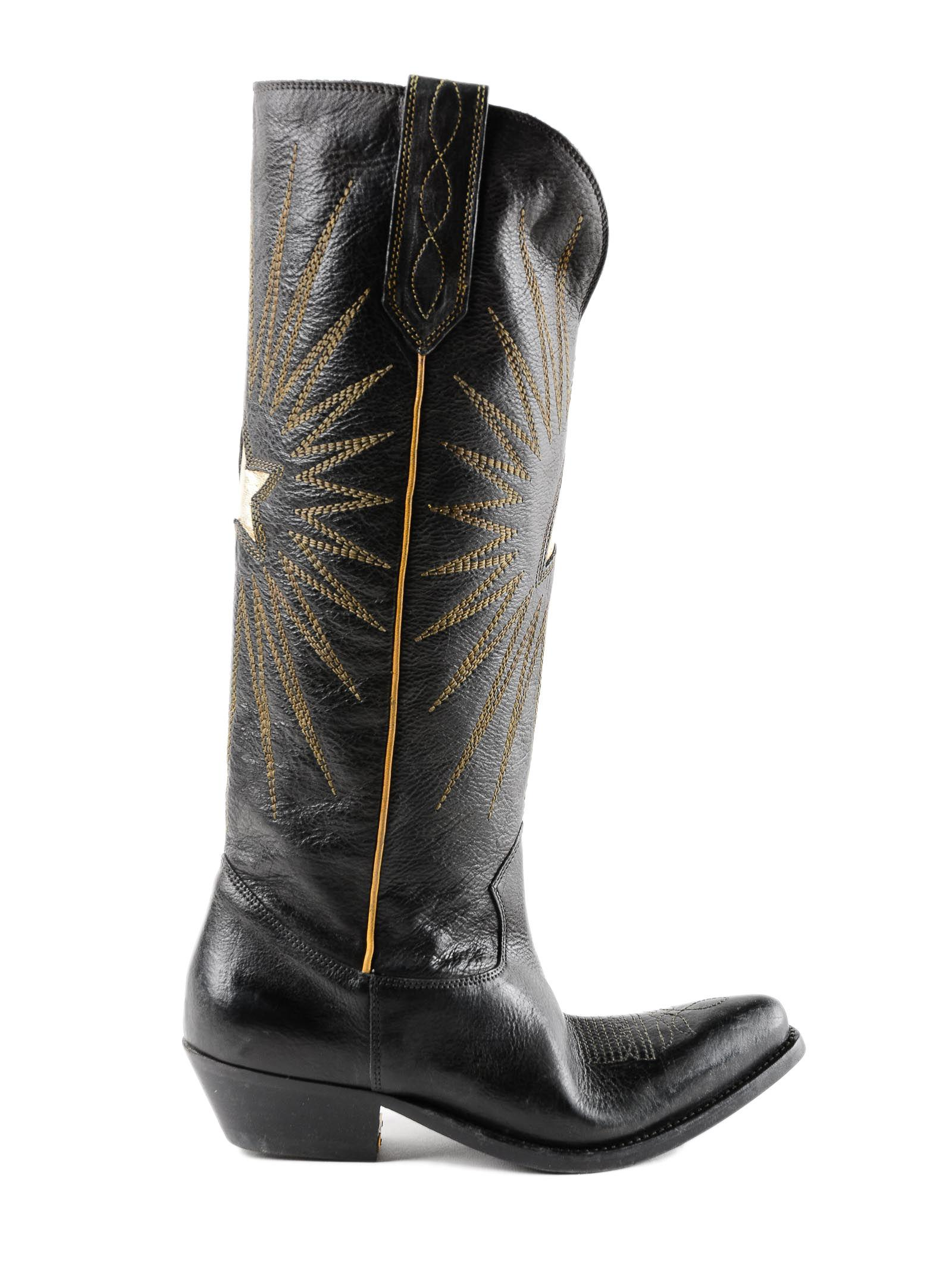 4297351daf3f Lyst - Golden Goose Deluxe Brand Boots Wish Star in Black