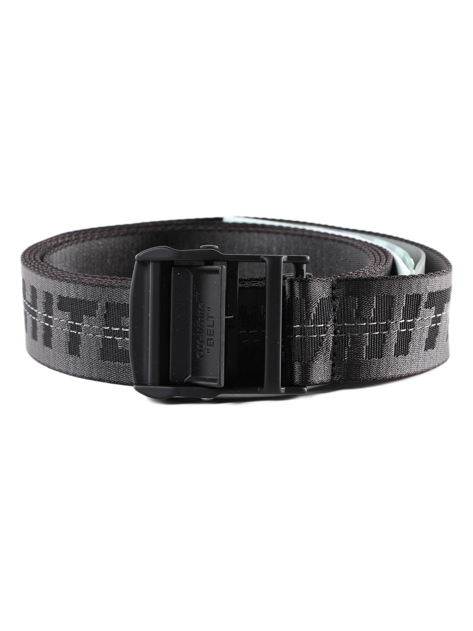 f2b6be2d3fdb Lyst - Off-White C O Virgil Abloh Classic Industrial Belt in Black