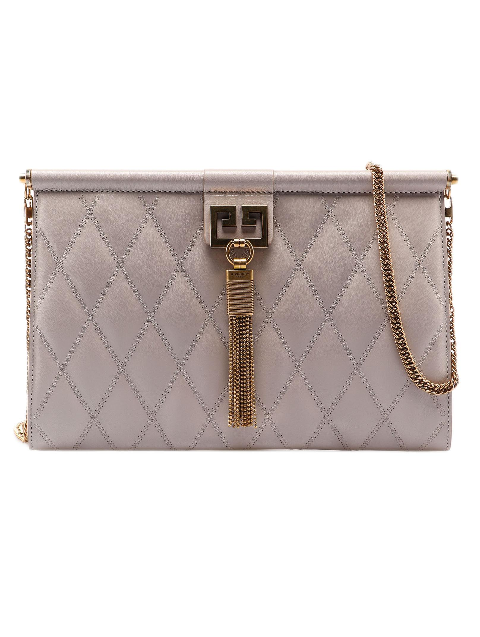 Lyst - Givenchy Gem Medium Bag in Natural 5630bae7da
