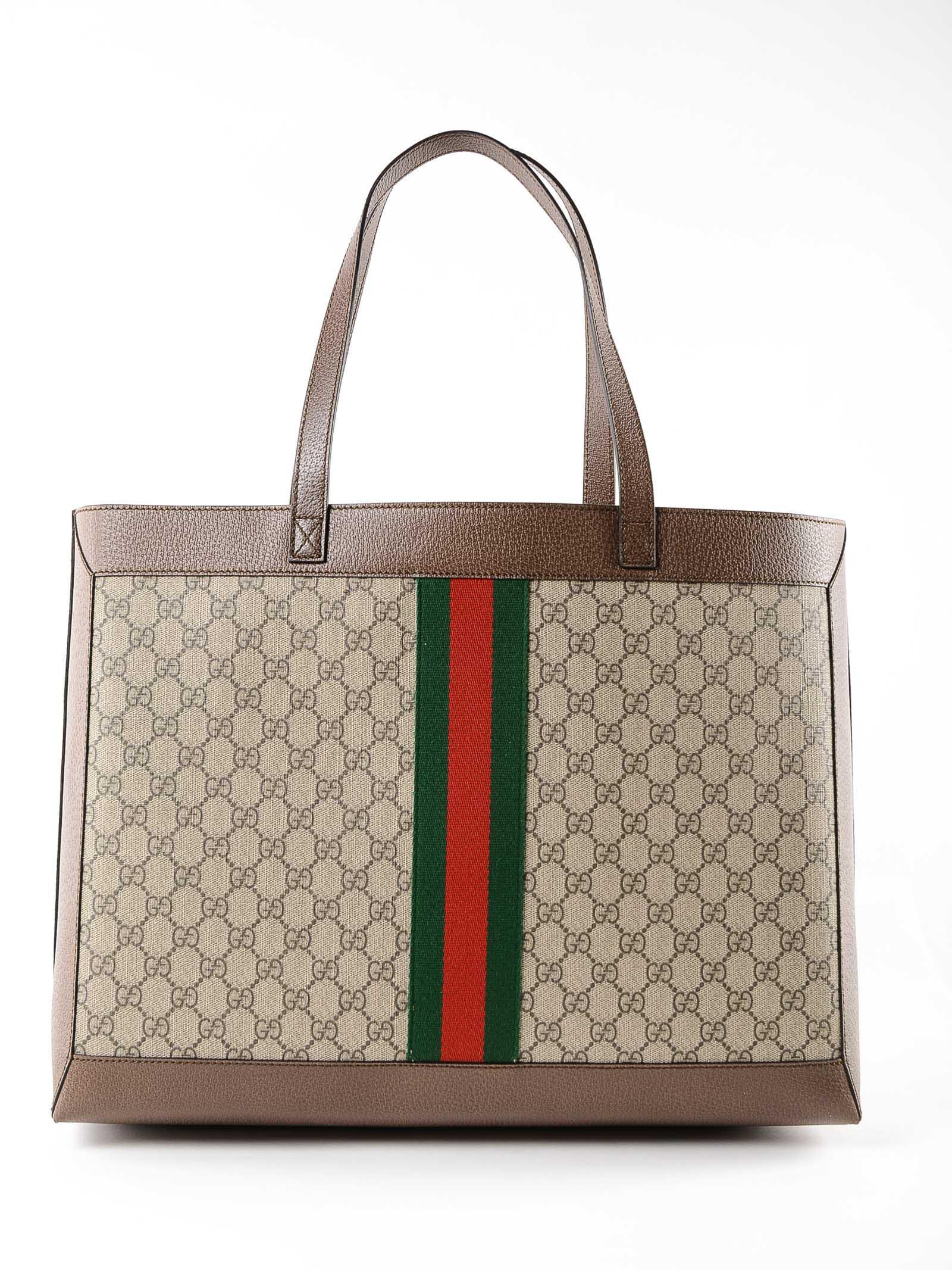Gucci - Multicolor GG Supreme Tote - Lyst. View fullscreen c42f1d90be2e4