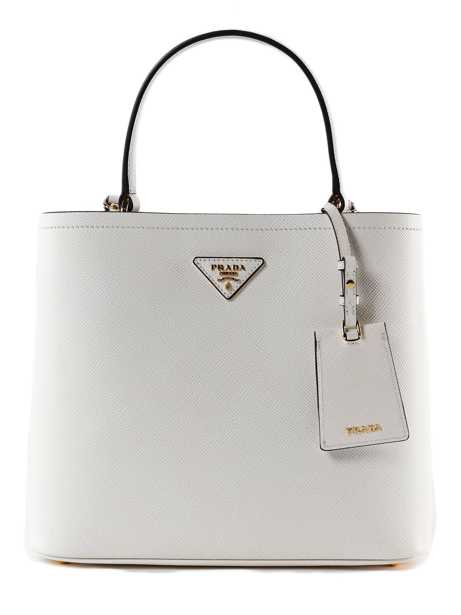40fc4f4613bf Prada - Multicolor Handbag Saffiano+city Calf - Lyst. View fullscreen