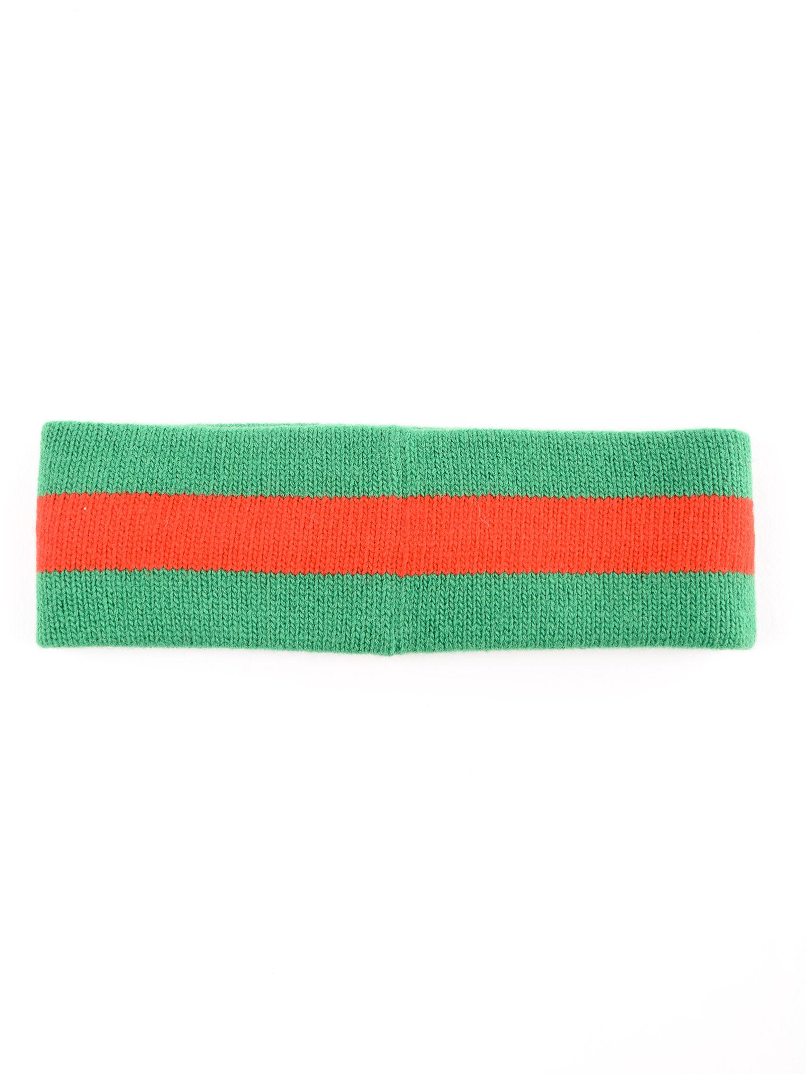 88995e6eedd Lyst - Gucci Gg Lock Hair Band in Green
