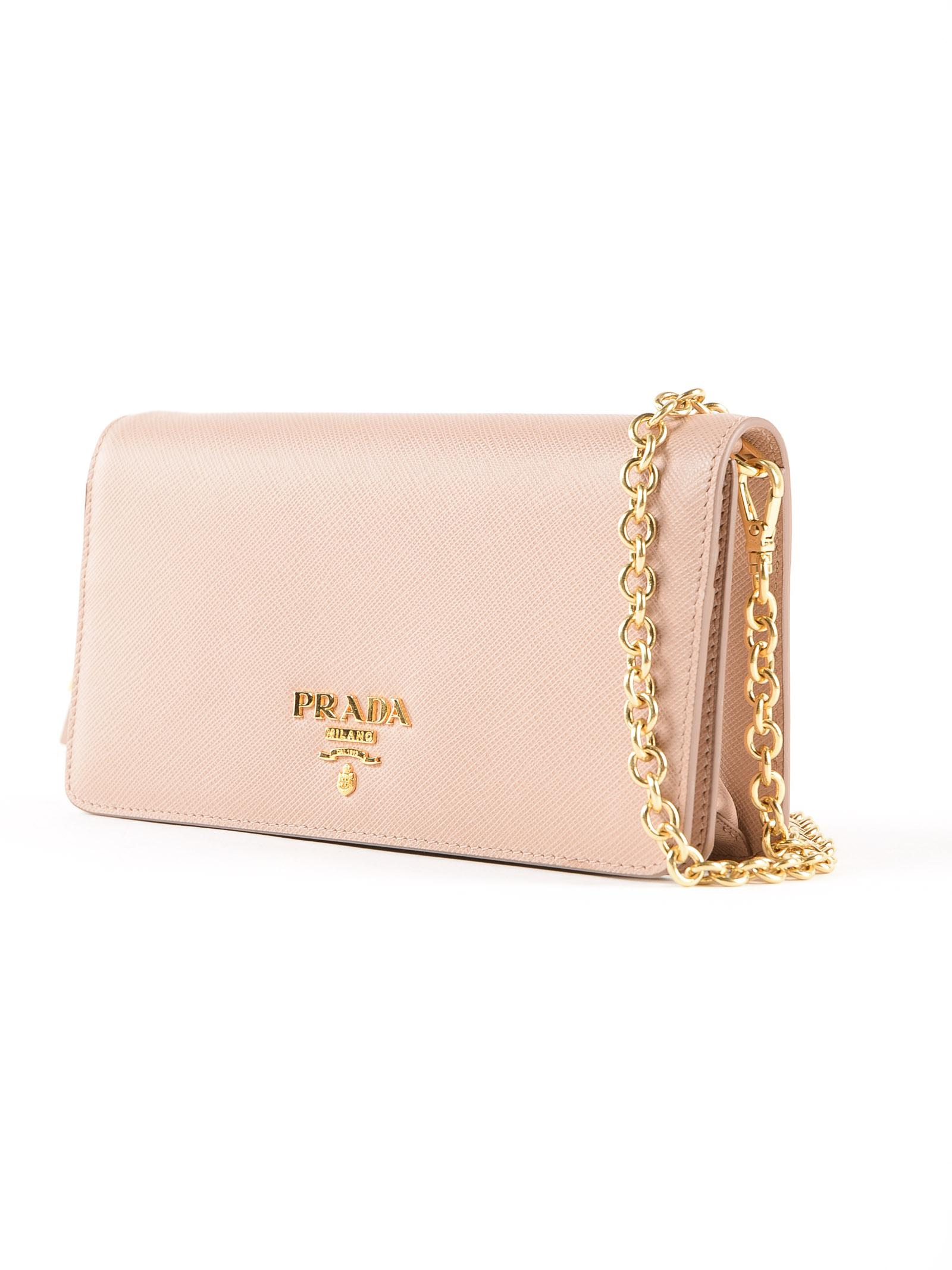 0270c9504c38 Prada Mini Bag Saffiano - Lyst