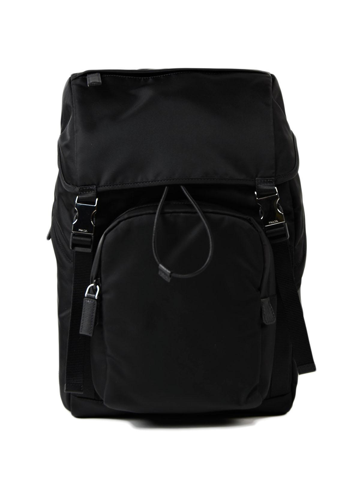 c71cec6b210e ... norway prada. mens black backpack tessuto montagna e0cc5 de71e