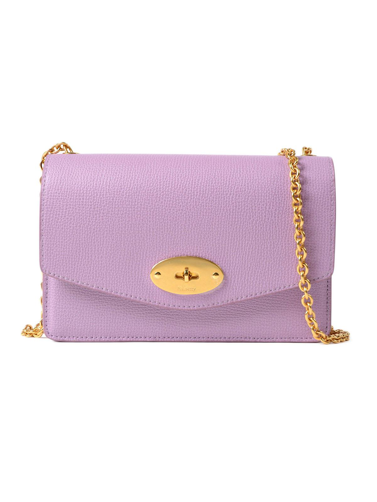 33b2e4f83a Mulberry Small Darley Bag in Purple - Lyst