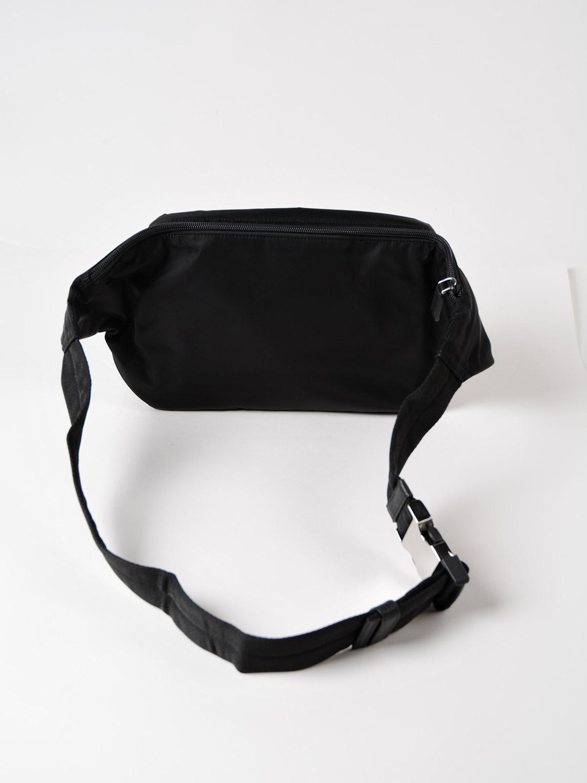 181c745daca8 Prada Tessuto Montagna Belt Bag in Black for Men - Lyst