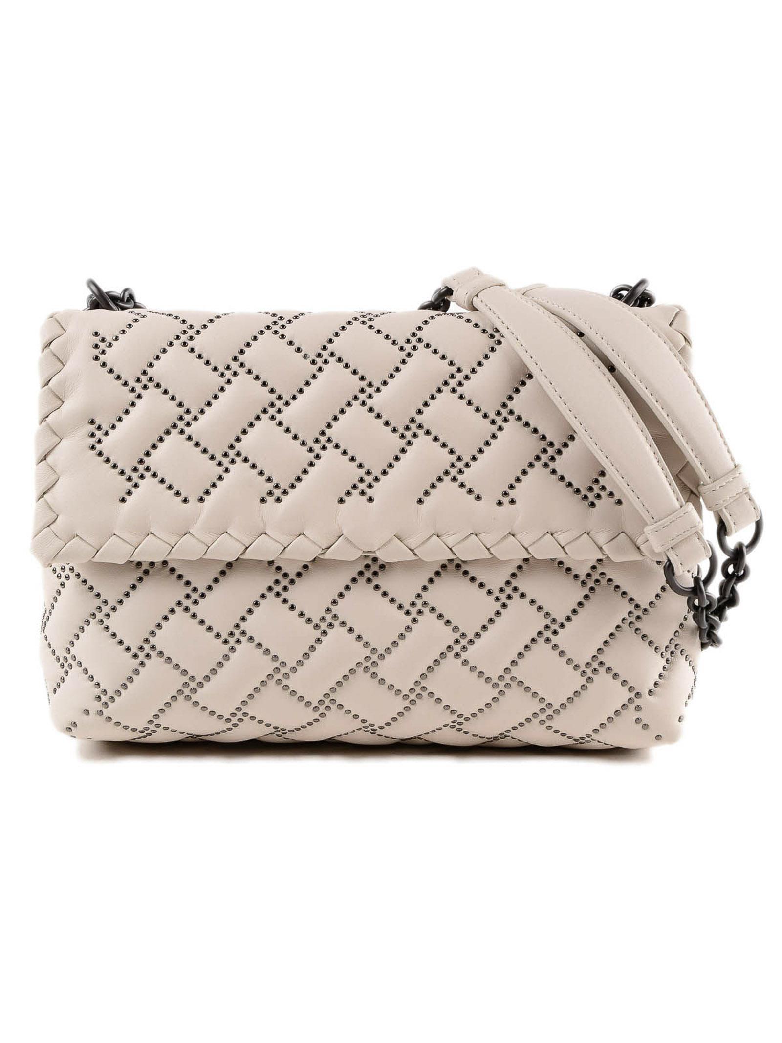 Bottega Veneta Sm Olimpia Bag in Natural - Lyst 0bbb579343edf